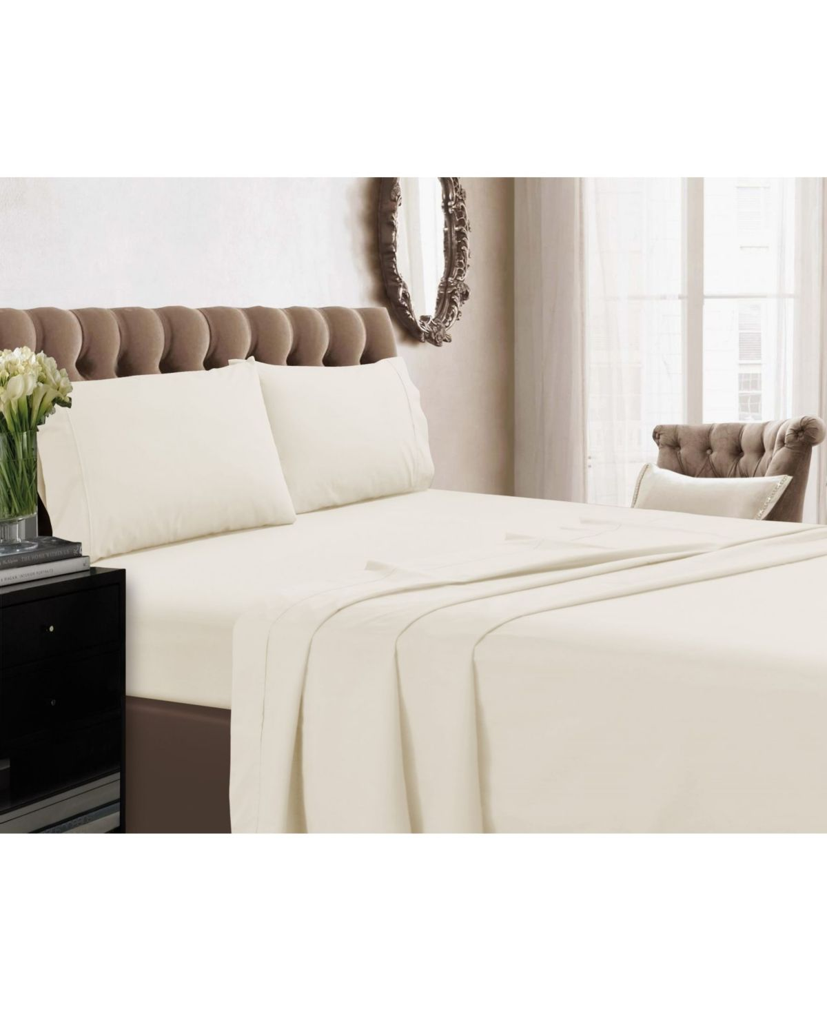 Tribeca Living 350 Thread Count Cotton Percale Extra Deep Pocket Twin Sheet Set Reviews Sheets Pillowcases Bed Bath Macy S In 2021 Tribeca Living White Bed Set Bedding Sets Twin xl deep pocket sheets