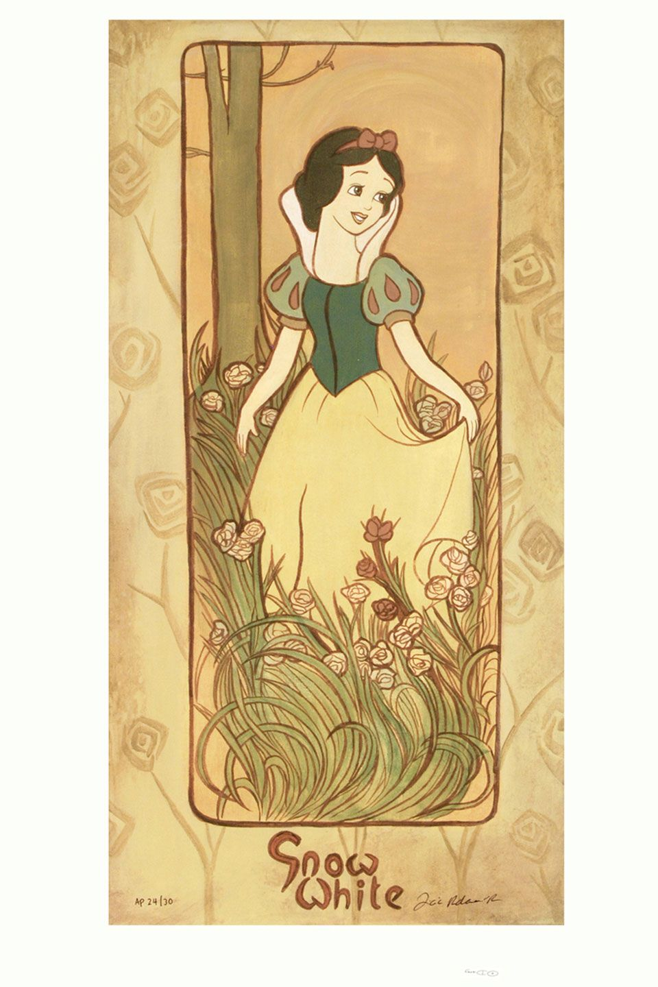 Snow White By Tricia Buchanan-Benson Giclee On Canvas | ever after ...