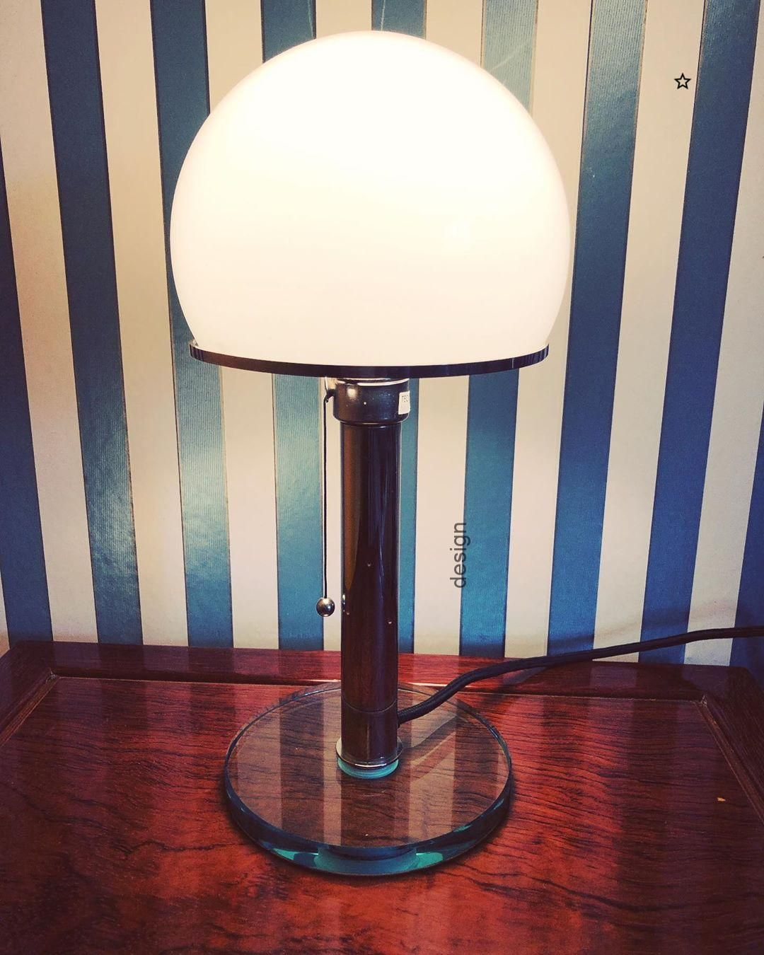 This Large Lobby Lamp Was Designed And Manufactured In Germany Around 1940 In A Modernist Bauhaus Style It F Bauhaus Lampen Modernes Mobeldesign Bauhaus Mobel