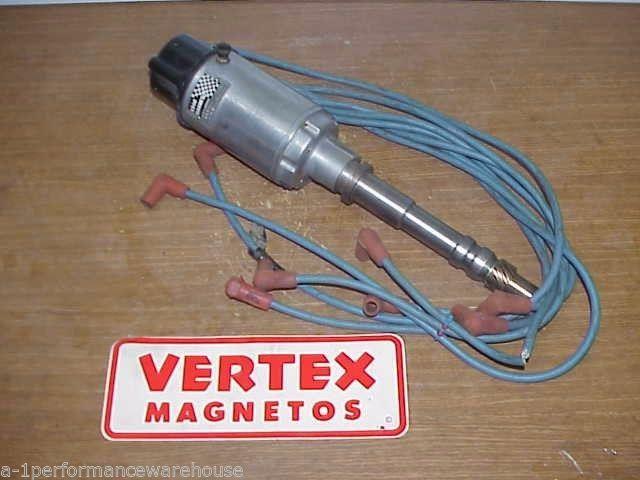 Krag Vertex Magneto SB BB Chevy Distributor with Moroso ... on