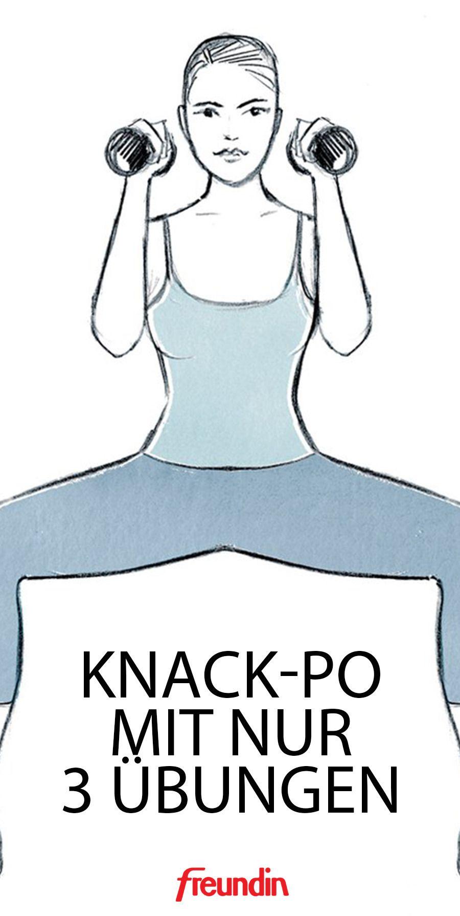 Photo of Knack-Po mit 3 Übungen | freundin.de