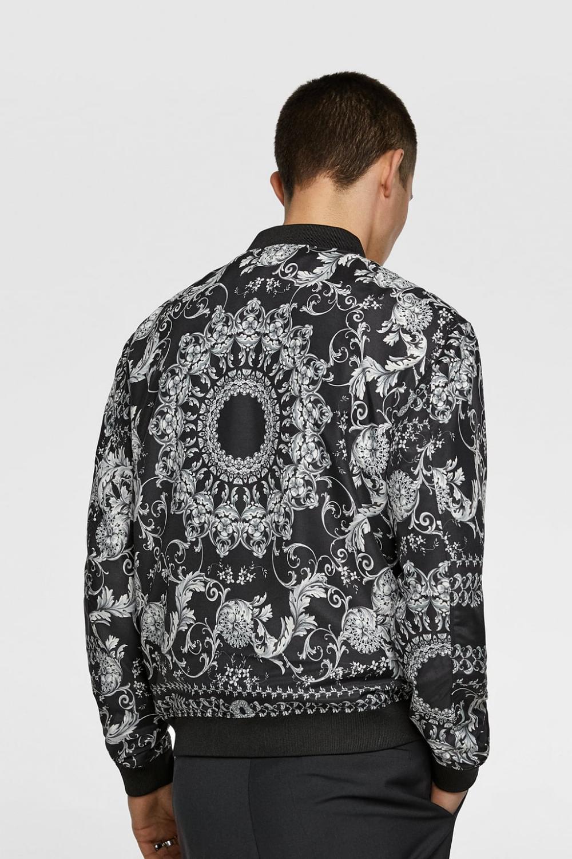 Bandanna Print Jacket Bomber Jackets Man Sale Zara Bahrain Men S Coats And Jackets Print Jacket Bomber Jacket Men [ 1500 x 1000 Pixel ]