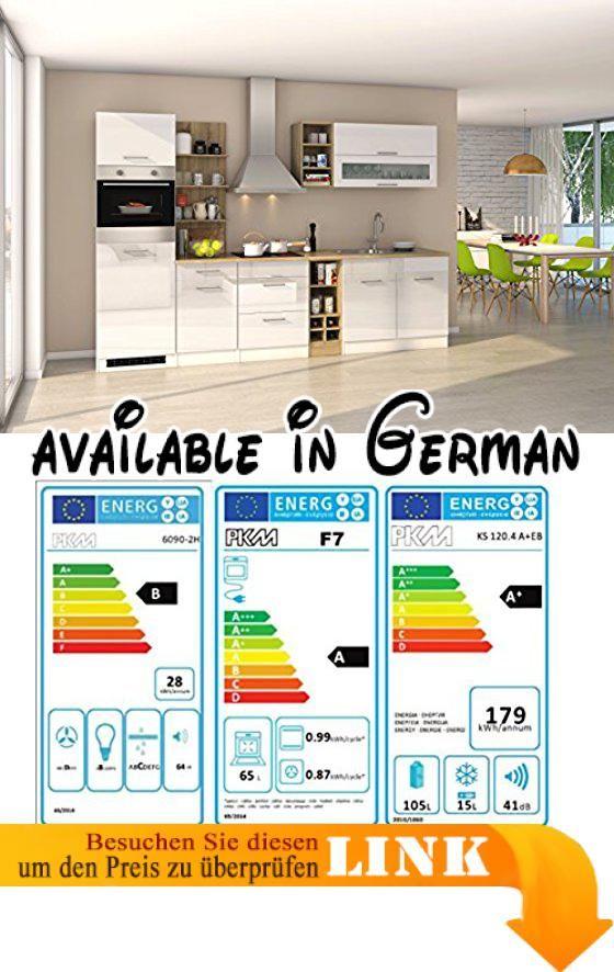 B071RF6NMH  Held Möbel 58016210 Mailand Küche Holzwerkstoff - küchenzeile hochglanz weiß