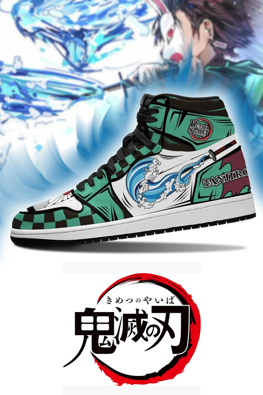 Tanjiro Kamado Air Jordan Sneakers