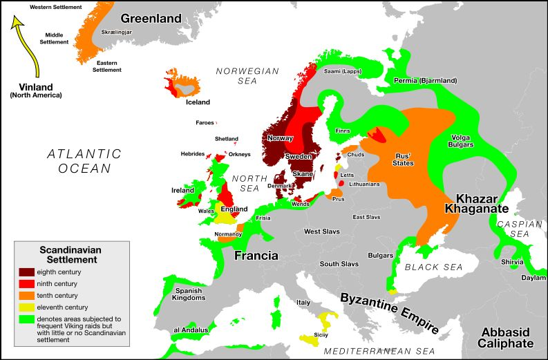 Pin By Dirk On French Connection Vikings Viking Culture Map