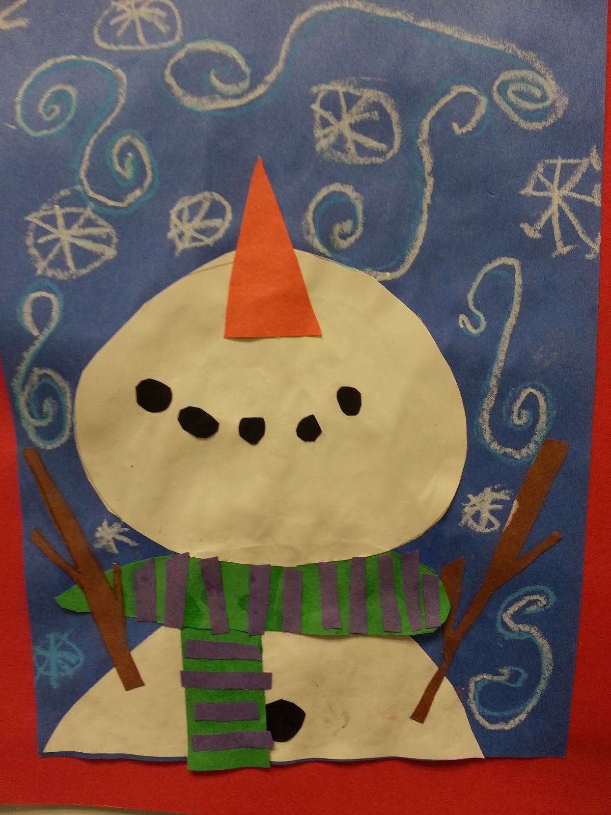 Christmas Craft Ideas For 2nd Graders Part - 36: 2nd Grade Snowman Projects | 2nd Grade: Perspective Snowmen