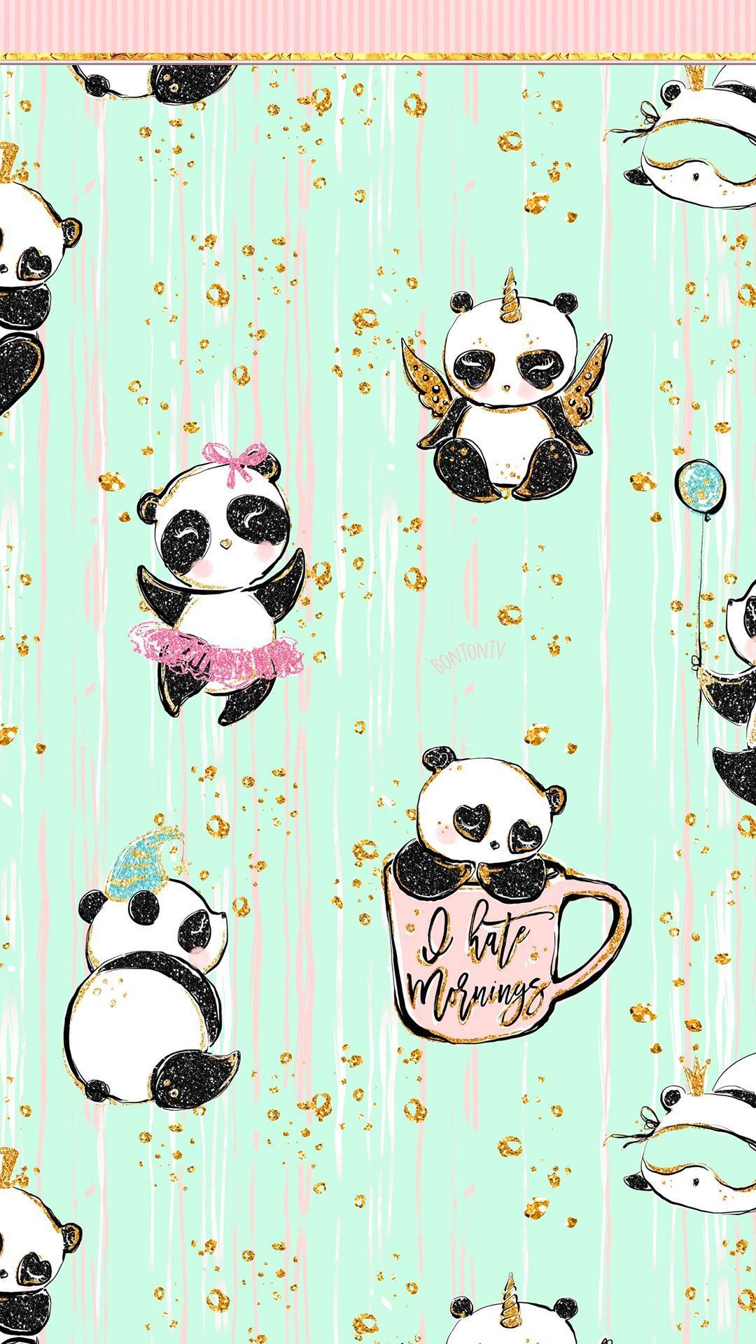 Phone Wallpapers Hd By Bonton Tv Free Download 1080x1920 Iphone Wallpapers Androi Cute Panda Wallpaper Panda Wallpaper Iphone Iphone Wallpaper Glitter