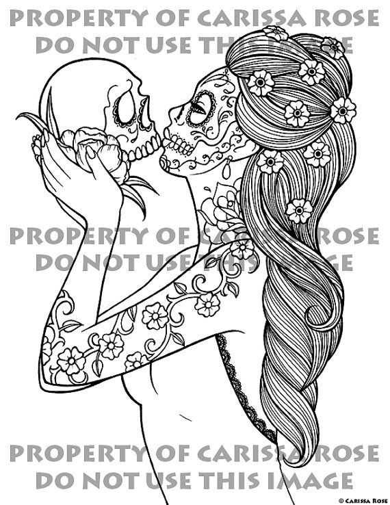 Digital Download Print Your Own Coloring Book by NeverDieArt | Dia ...