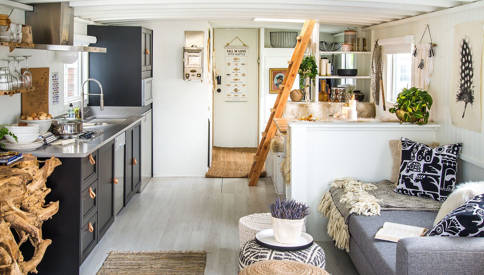 Interior Designer Genevieve Gorder Transforms Seattle Houseboat