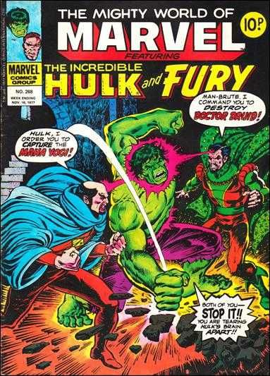 The Mighty World of Marvel #268