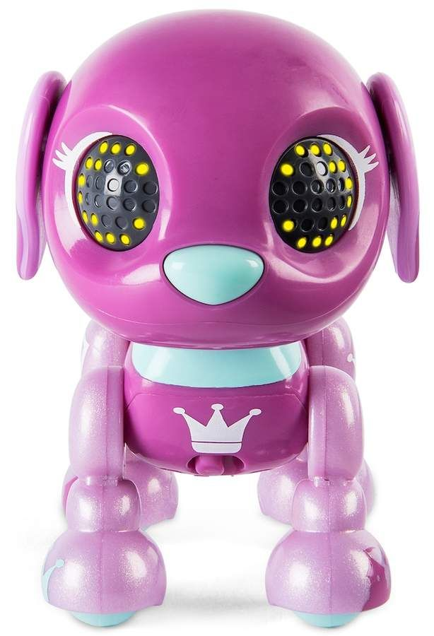 Sounds and Sensors Interactive Puppy with Lights Queen Beagle Zoomer Zupps Royal Pups Litter 4