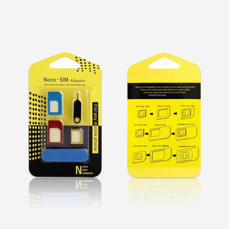 Find more adapters information about 5in1 nano micro