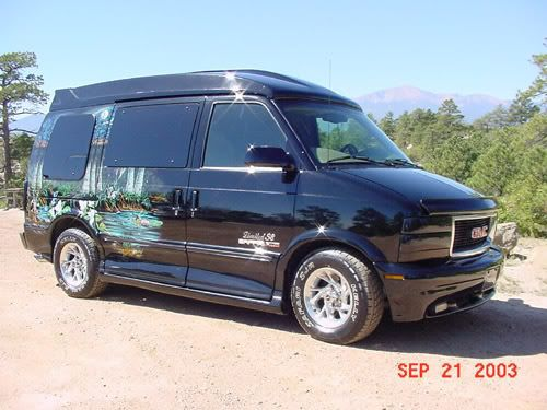 Custom Gmc Sierra Van Chevy Astro Van Astro Van Vans