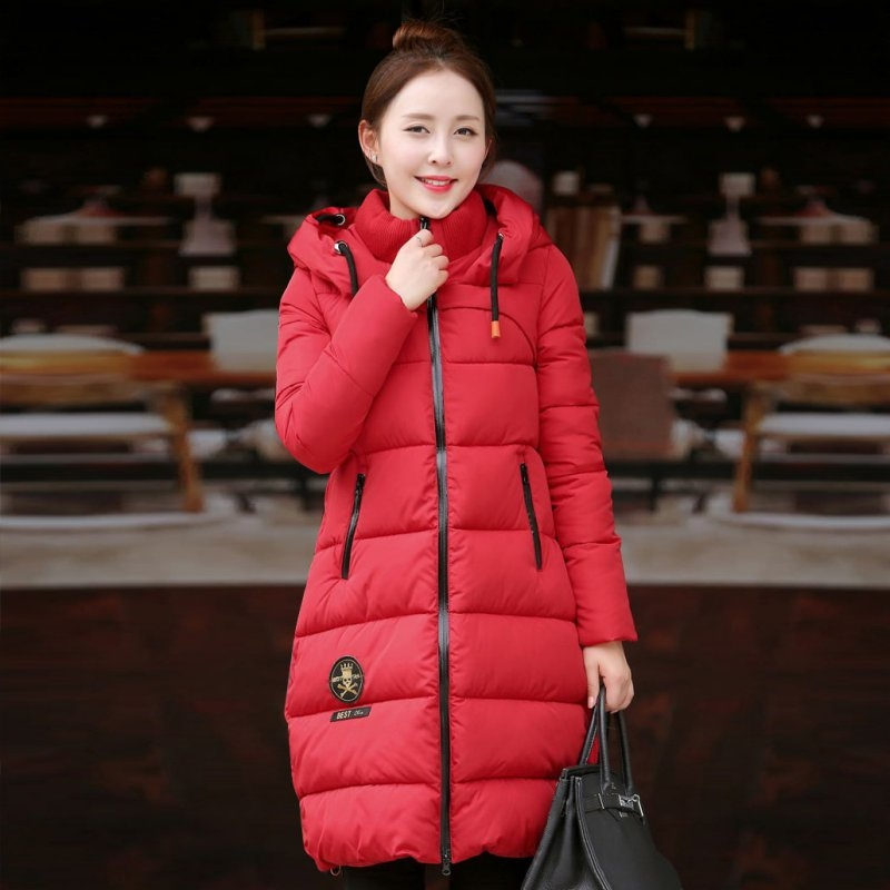 27.10$  Buy here - http://aligz6.shopchina.info/1/go.php?t=32752621994 - Fashion Women's Thicken Warm Winter Coat Ladies Hooded Parka Overcoat Long Hoodie Jacket Outwear 27.10$ #buyonlinewebsite