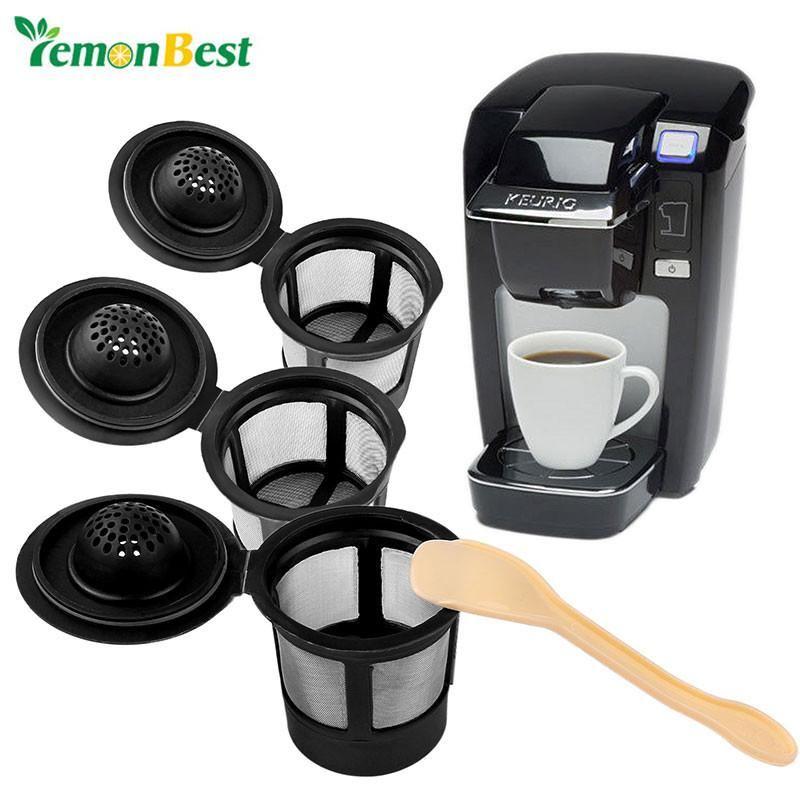 3 Reusable Single KCup Pod Coffee for Keurig & Similar
