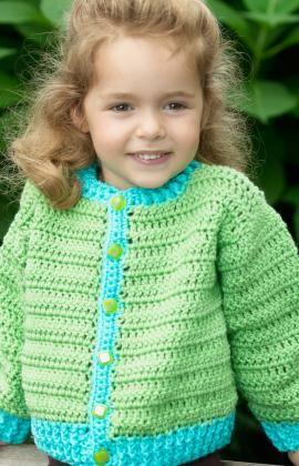 4e81b43b9e62 Fun Time Cardigan Crochet FREE~Pattern. Skill~Easy. This was one of ...