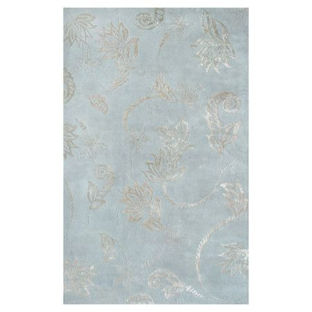 I pinned this Henna Rug in Aqua & Silver from the Classic Updates event at Joss and Main!