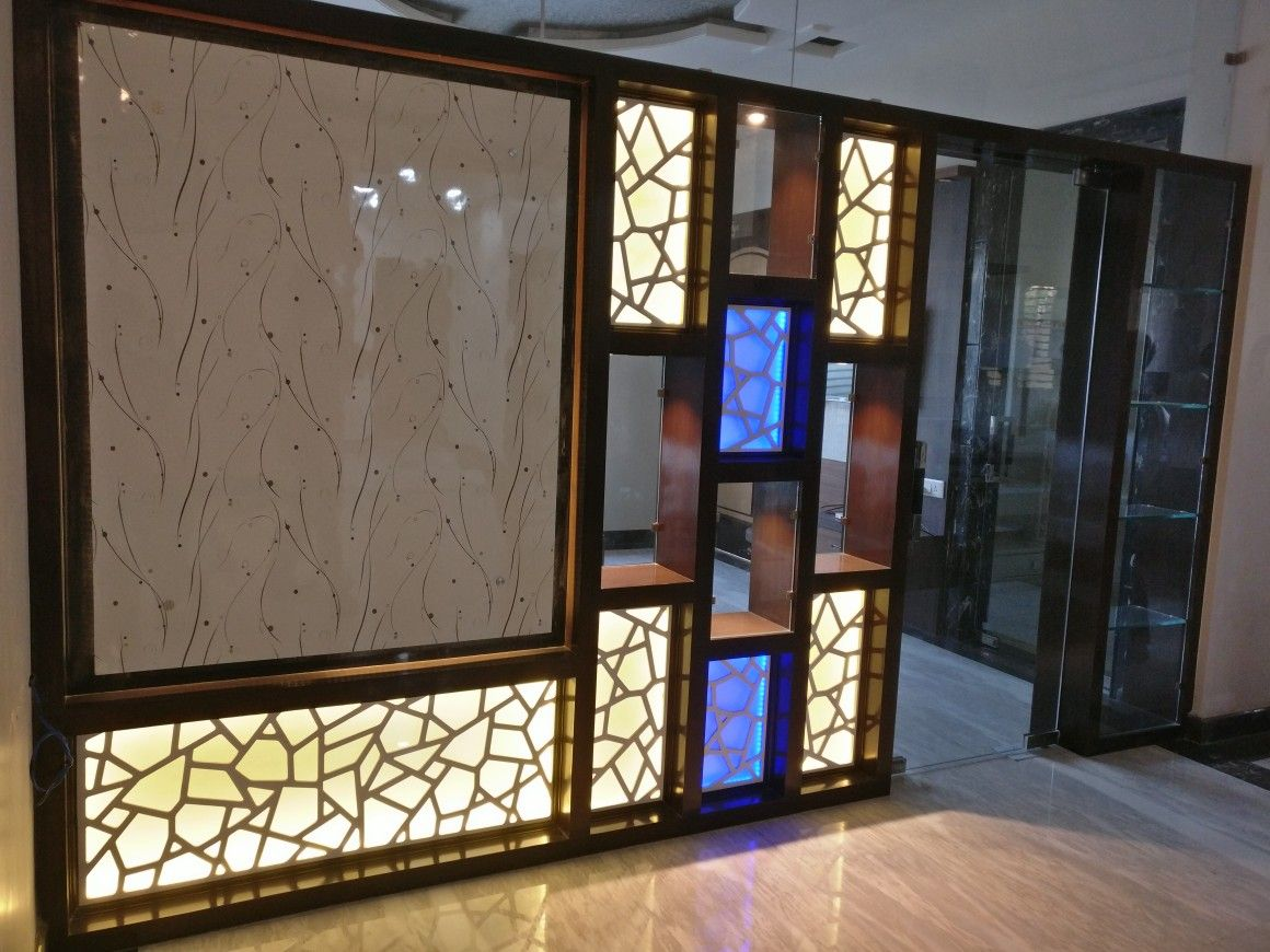 Partitions Designs Wooden Partition With Cnc Jali Jali Wooden Partitions