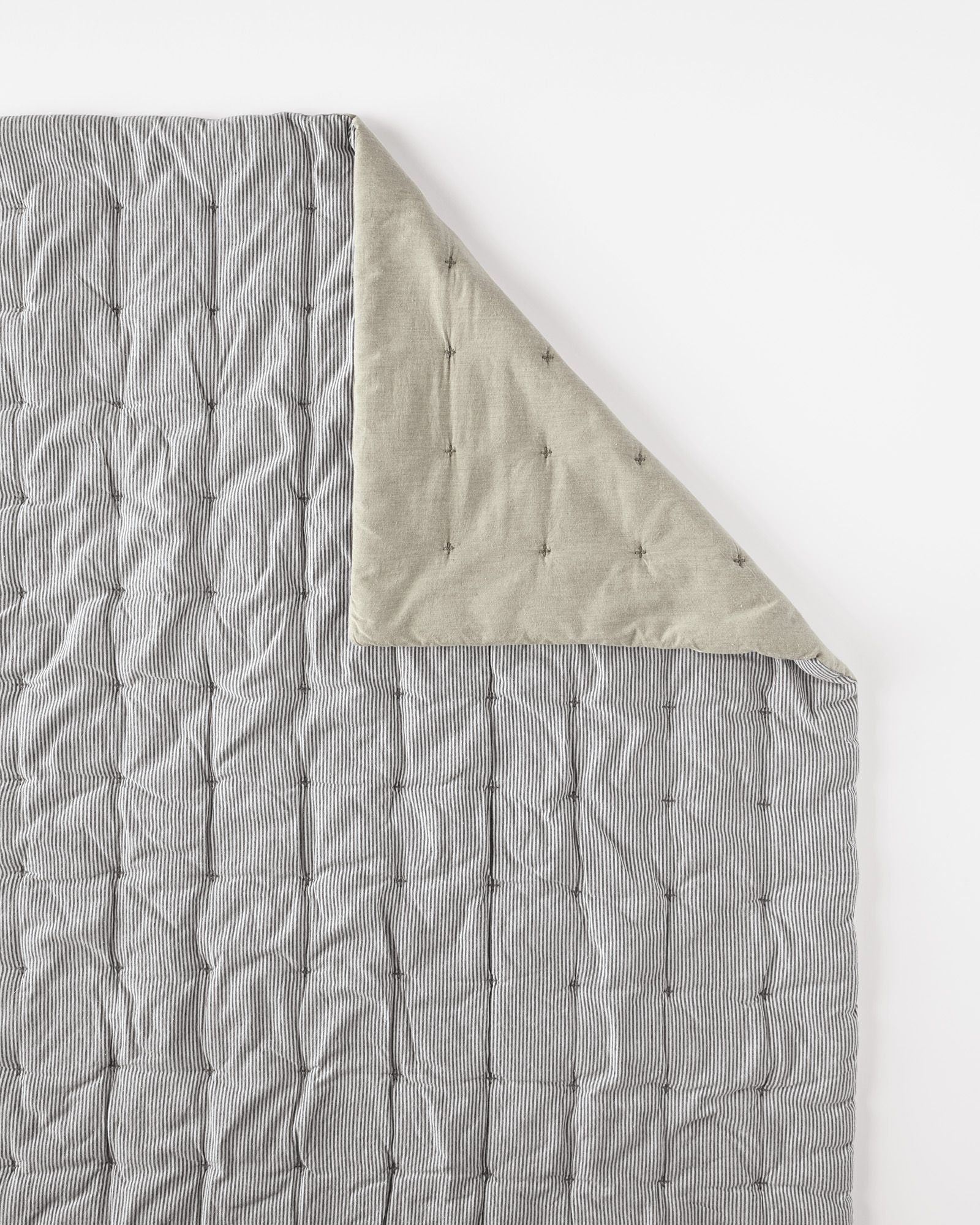Woven Stripe QuiltWoven Stripe Quilt | HOME: bedroom | Pinterest ... : ticking quilt - Adamdwight.com