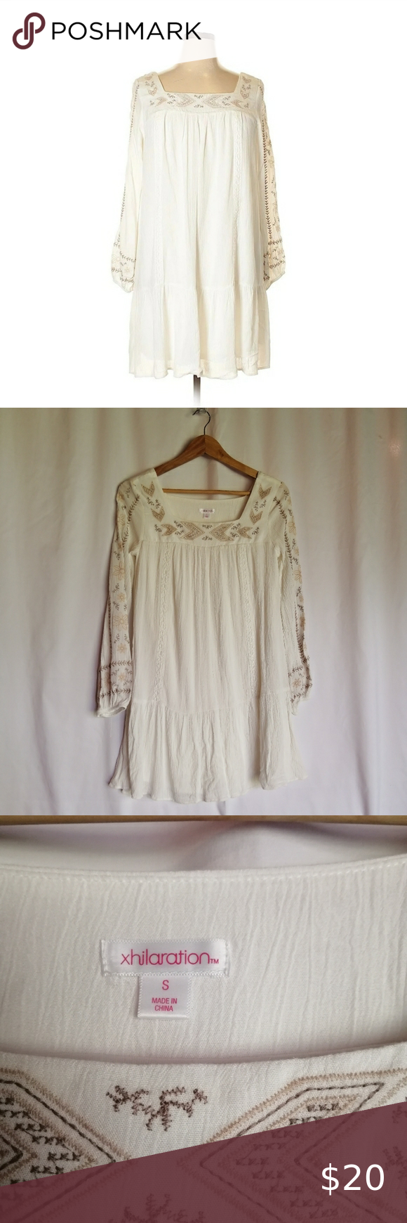 Boho Peasant Dress By Xhilaration Target Peasant Dress Boho Bohemian Style Dresses Long Sleeve Mini Dress [ 1740 x 580 Pixel ]