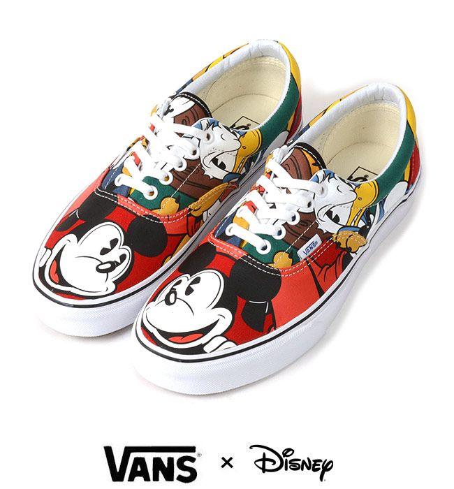 Vans Disney ERA (Mickey &Friends/Mt Mickey & Friends/multi). Mickey Mouse  ShoesVans ...