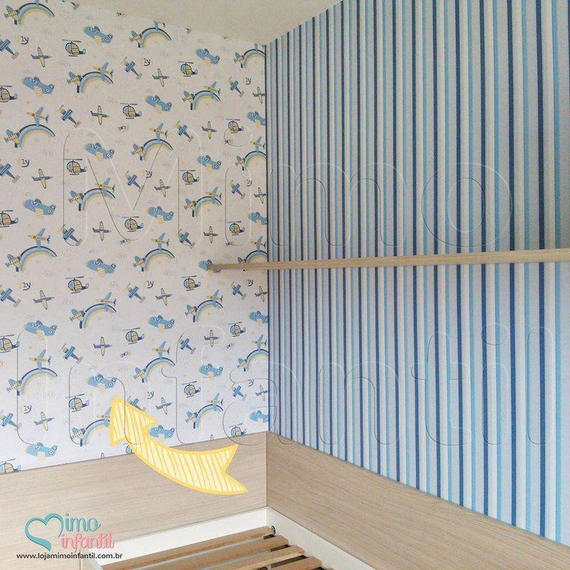 Papel de paredes para decora o de quarto de beb e - Papel decoupage infantil ...
