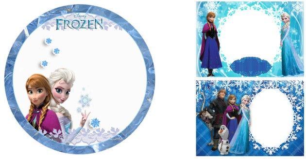 11 Molduras Frozen Em Alta Definicao Em Png Frozen Png Estampa Para Canecas
