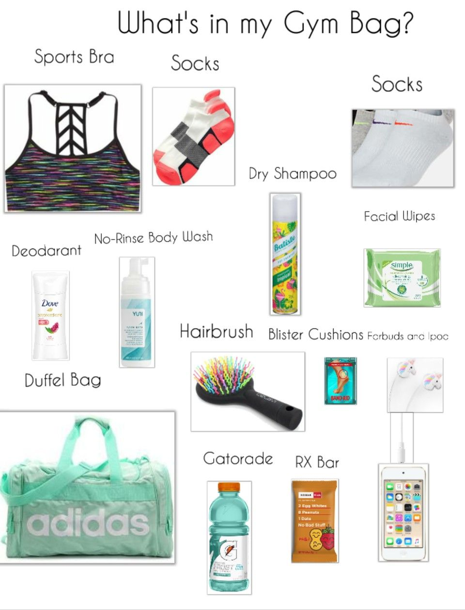 This Isn T Actually My Gym Bag And What S In It Gym Bag Essentials List Gym Bag Essentials Gym Bag Essentials Women