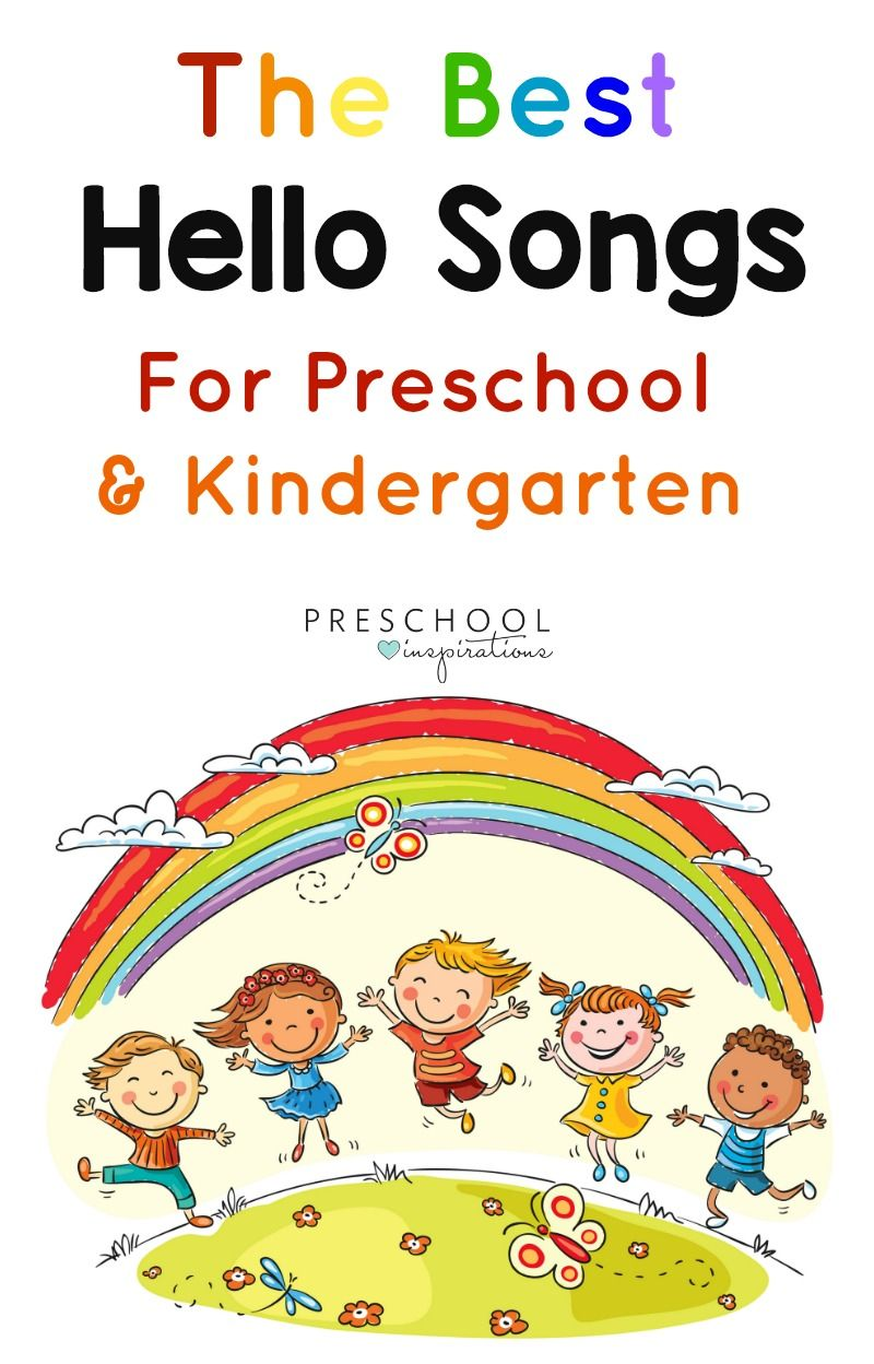 Worksheets Kindergarten Story hello songs to encourage a positive circle time kindergarten finger plays