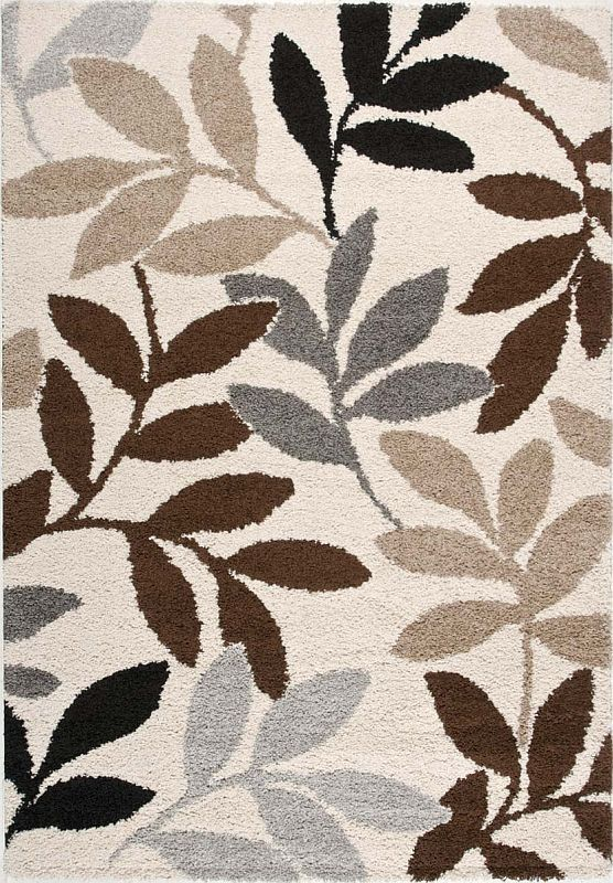 Leaf Pattern Area Rugs Milano Area Rug With Leaf Pattern With