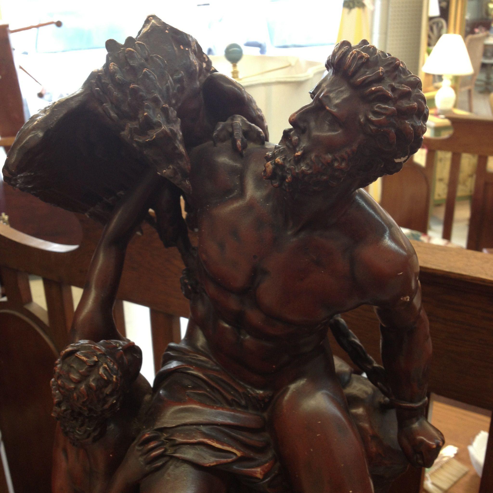I saw a replica statue of my Prometheus tattoo's ...