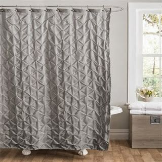 gray shower curtains