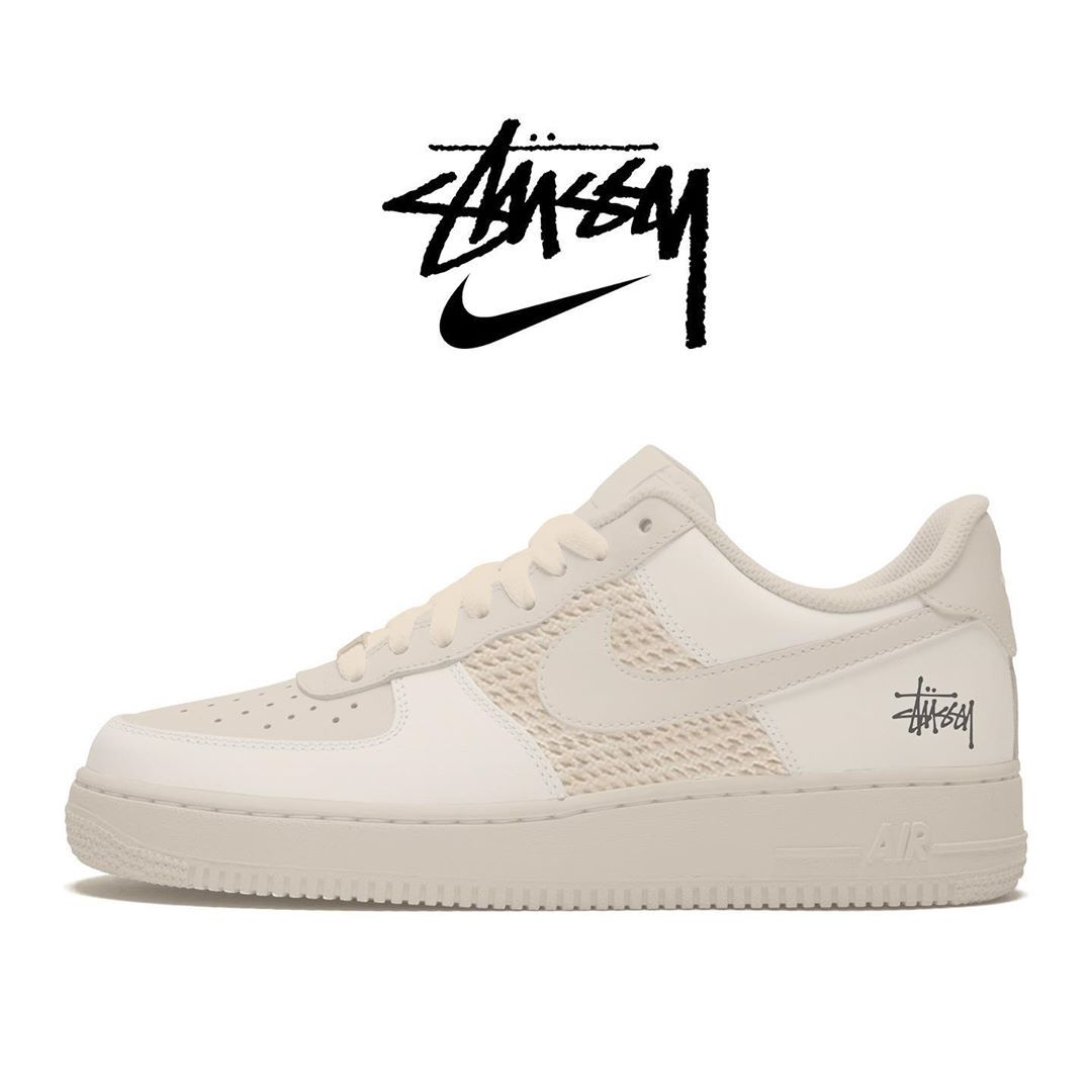 Droplist App Streetwear Info S Instagram Photo Nike Stussy Air Force 1 Pack Holidays 2020 130 What Designs Would You Like To See Used For This Collab