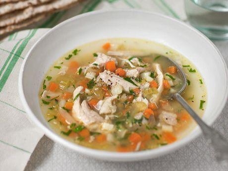 klar grönsakssoppa recept