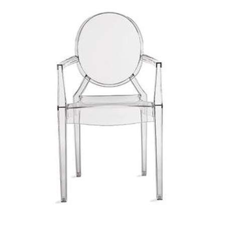 Philippe Starck Louis Ghost Ghost Armchair Louis Ghost Chair