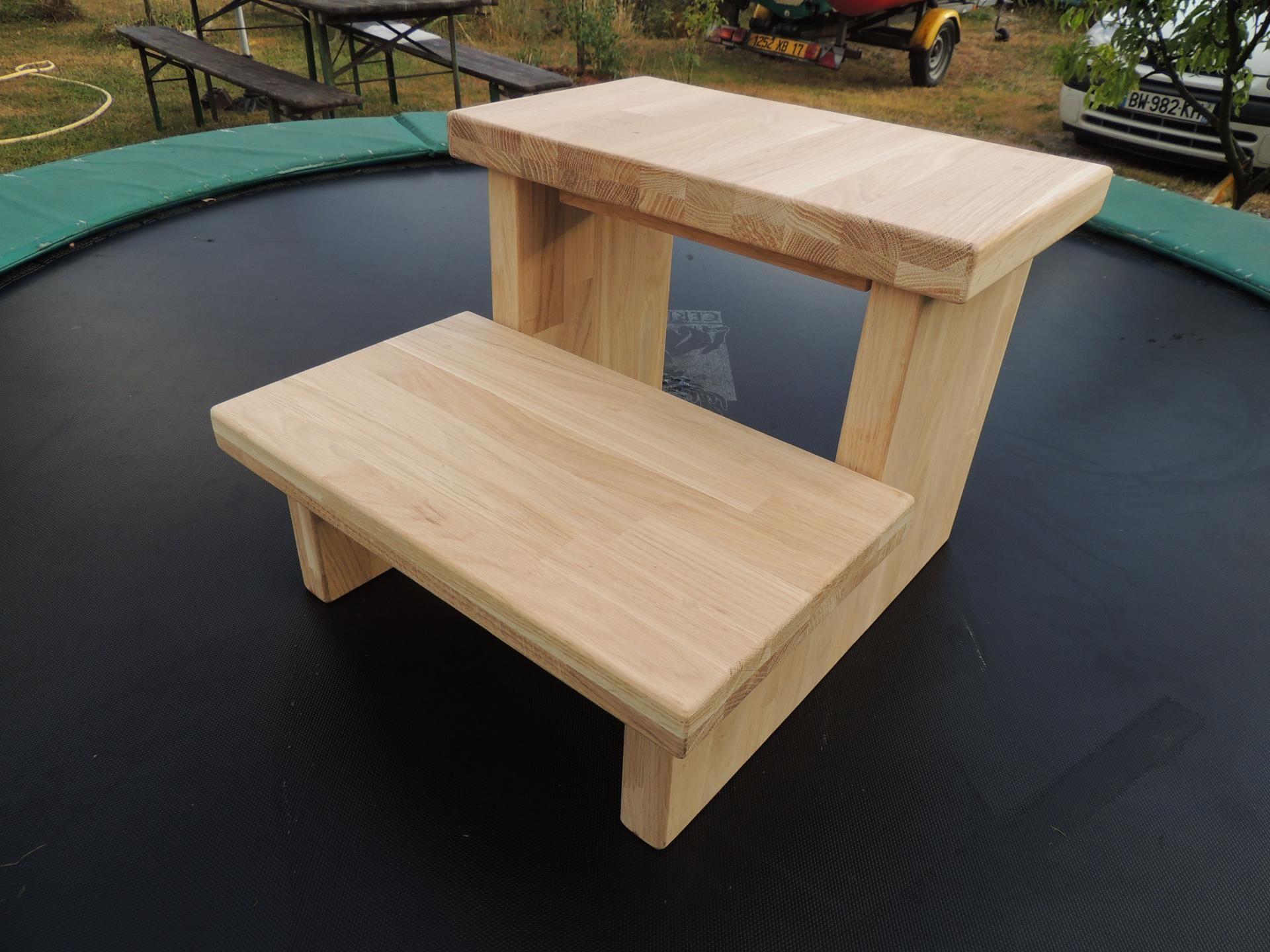 Atelier Cannelle Marche Pied Deco Bois Idees Pour La Maison
