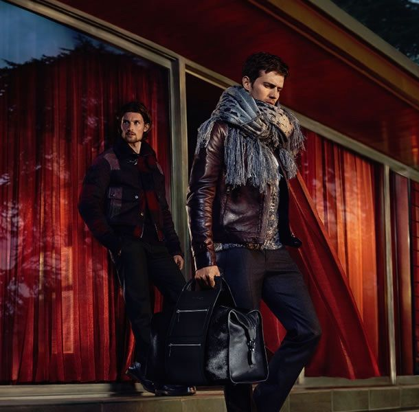men's fashion & style - Salvatore Ferragamo Autumn/Winter 2015 Advertising...