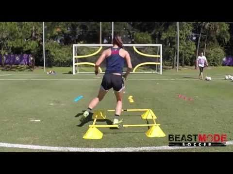 Shoot and Score like Alex Morgan - YouTube