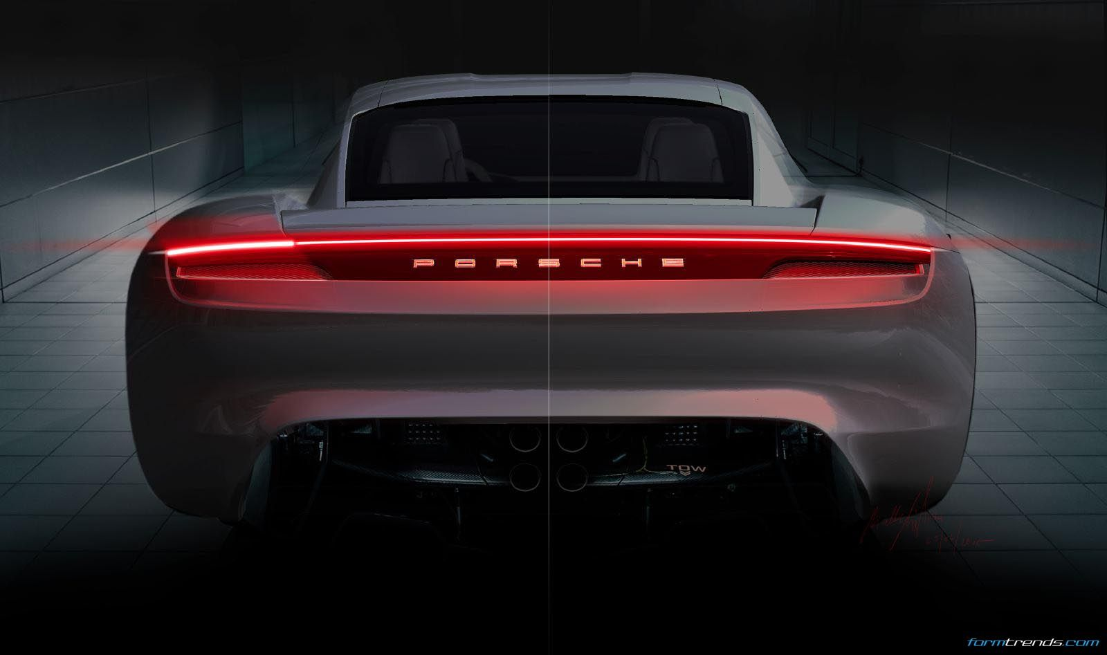 Design Story In Depth With The Porsche Mission E Concept Porsche Mission Mission E Porsche