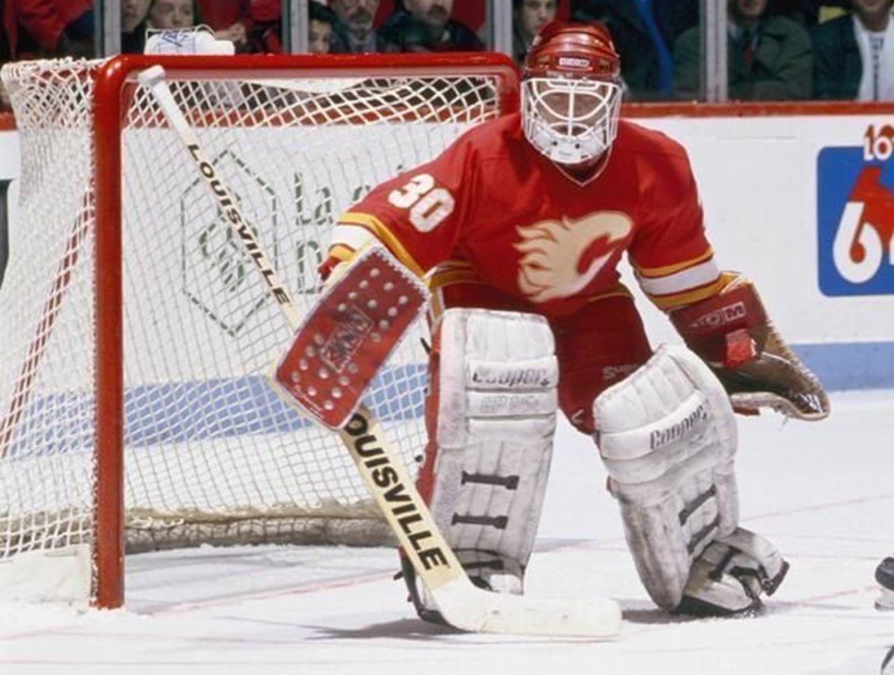 mike vernon Google Search Calgary flames, Hockey teams