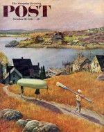 Children with Rowboat (John Clymer, October 31, 1953)