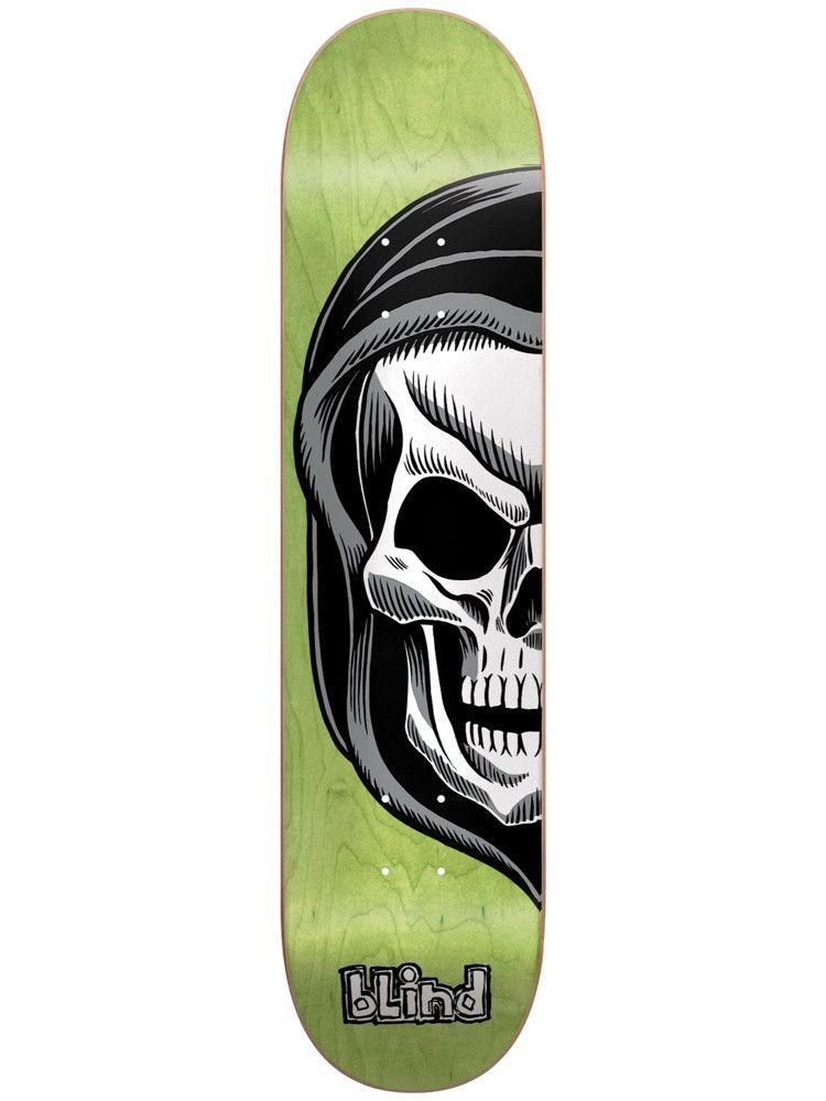 6681ec74 Blind Reaper Split Lime 8.0 Skateboard Deck | Blind Skateboards ...