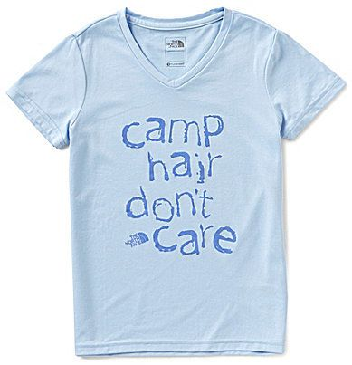 e7bbeb4f0 The North Face Little/Big Girls 5-18 Reaxion Camp Hair Don't Care ...