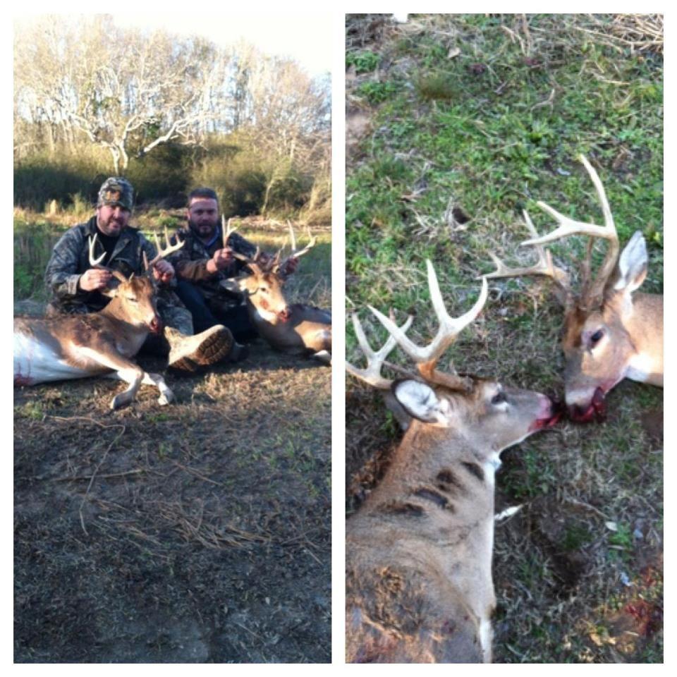 We got a Double Big Buck Down in Wetumpka, Alabama - Brad Price & Dan Shaw!