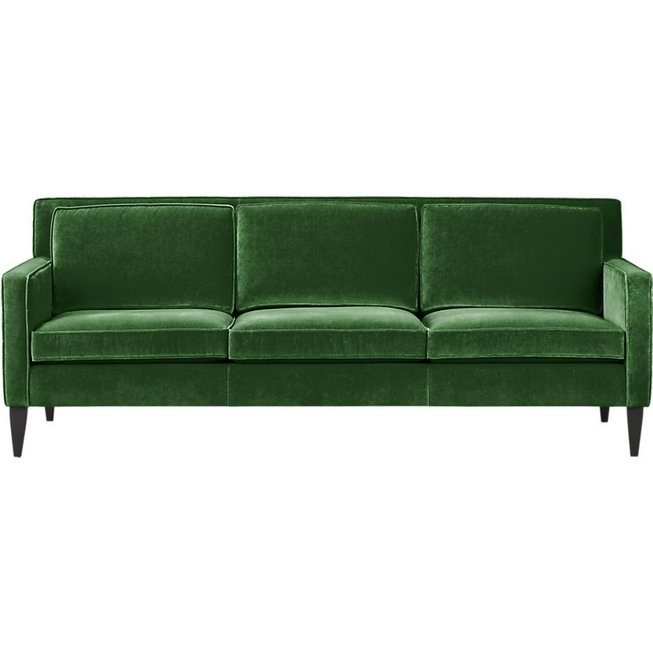 Rochelle Sofa in Sofas | Crate and Barrel | House stuff ...