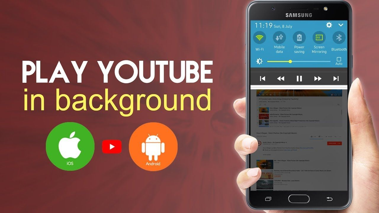 How To Play Youtube In Background Of An Android Phone Or An Iphone Techbylws Youtube Mobile Data Android