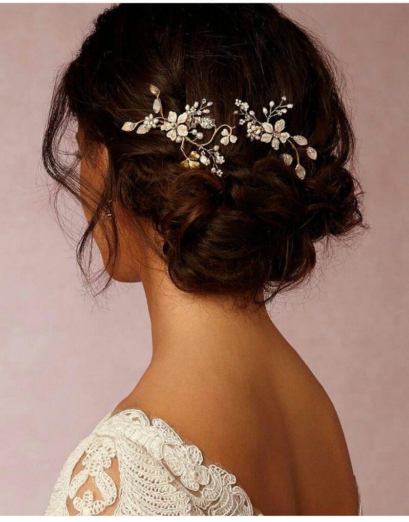 pin by sarah vanamburg on hair | pinterest | elegant wedding hair