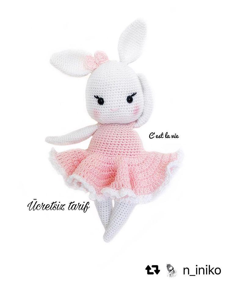 Örgü Ayıcık Yapılışı Anlatımlı | Crochet teddy bear pattern ... | 918x750