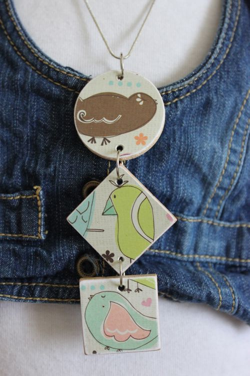 Poppies at Play: DIY Three Pendant Necklace~