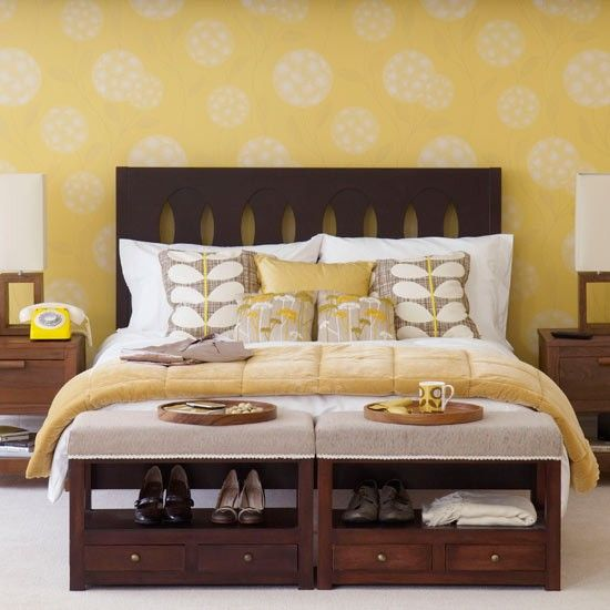 Start off a bedroom colour scheme | Bedroom wallpaper ideas - 10 best | housetohome.co.uk